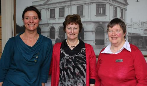 L to R: Leilani Gundry, Sue Ladd, Raewyn Murray