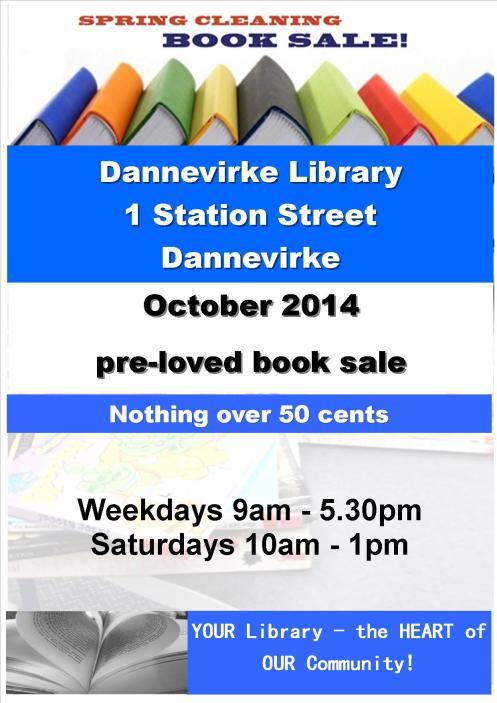 Tararua District Library Book Sale October 2014 jpeg