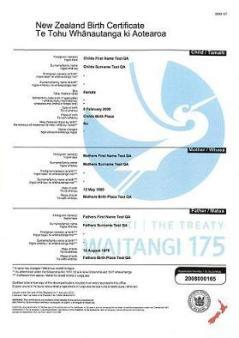 The treaty of waitangi commemorative certificate available the treaty of waitangi commemorative certificate available tararua district library te whare pukapuka o tararua yelopaper Images