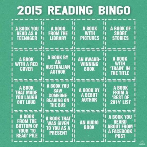 2015 reading bingo