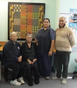 L to R: Ataneta Paewai, Sylvia Albert, June Kahu and Huatahi Albert