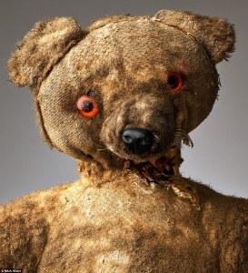 teddy bear well worn