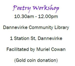 adult learners poetry workshop
