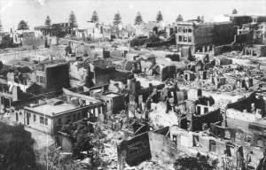 Napier after quake